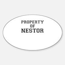 Property of NESTOR Decal