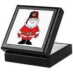 Santa The Shriner Keepsake Box