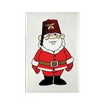 Santa The Shriner Rectangle Magnet