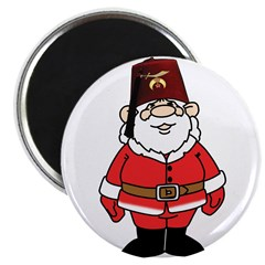 Santa The Shriner Magnet