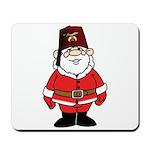 Santa The Shriner Mousepad