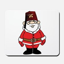 Santa The Shriner Mousepad