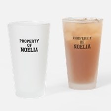 Property of NOELIA Drinking Glass
