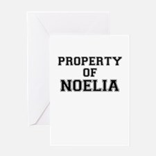Property of NOELIA Greeting Cards