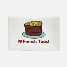French Toast Rectangle Magnet