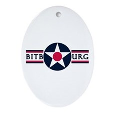 Bitburg Air Base Oval Ornament
