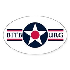 Bitburg Air Base Oval Decal