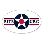 Bitburg Air Base Oval Sticker