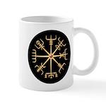 Gold Viking Compass Disk Mug