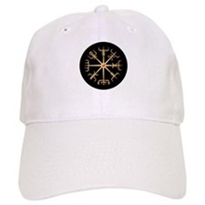Gold Viking Compass Disk Baseball Cap