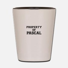 Property of PASCAL Shot Glass