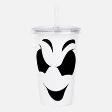 Halloween Ghost Face Acrylic Double-wall Tumbler
