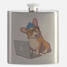 Cute Corgi Flask