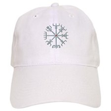 Silver Viking Compass Baseball Cap
