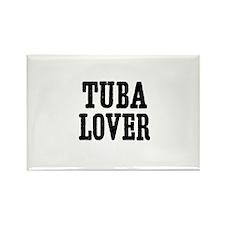 Tuba lover Rectangle Magnet