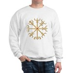 Gold Viking Compass (wide) Sweatshirt