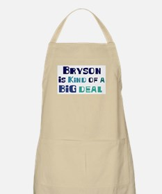 Bryson is a big deal BBQ Apron