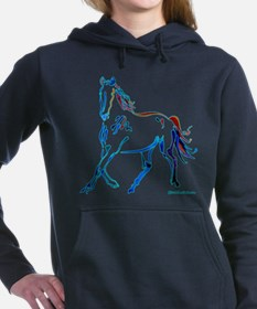 Unique Horse Women's Hooded Sweatshirt