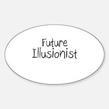Future Illusionist Oval Decal
