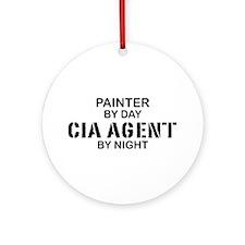 Painter CIA Agent Ornament (Round)