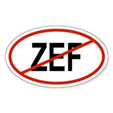 ZEF Oval Decal