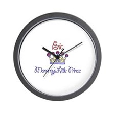 Eric - Mommy's Little Prince  Wall Clock