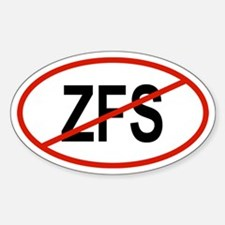 ZFS Oval Decal