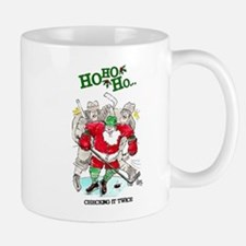 Christmas Hockey Mugs