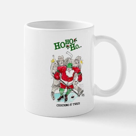 Christmas Hockey Mugs