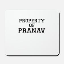 Property of PRANAV Mousepad