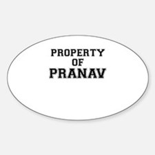 Property of PRANAV Decal