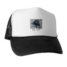 Black Lab, my bff Trucker Hat