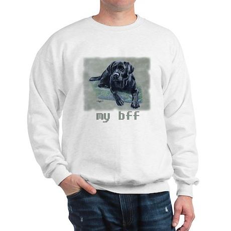 Black Lab, my bff Sweatshirt