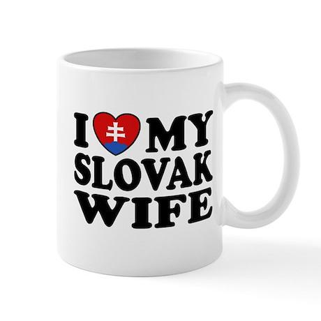 I Love My Slovak Wife Mug
