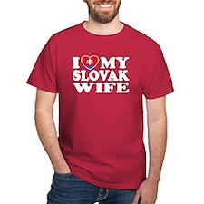 I Love My Slovak Wife T-Shirt