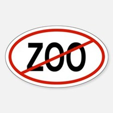 ZOO Oval Decal