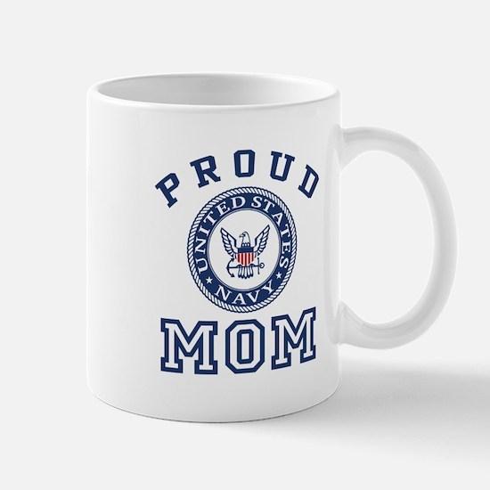 Proud US Navy Mom Mug