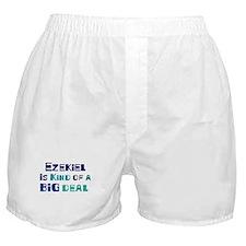 Ezekiel is a big deal Boxer Shorts