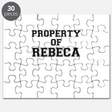 Property of REBECA Puzzle