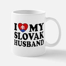 I Love My Slovak Husband Mug