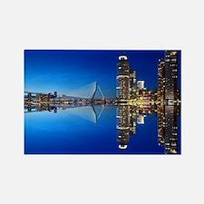 Cute Rotterdam netherlands Rectangle Magnet