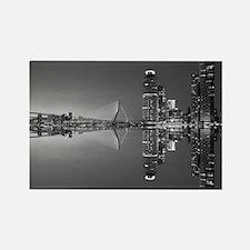 Unique Rotterdam netherlands Rectangle Magnet