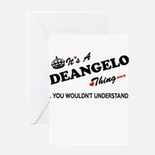 DEANGELO thing, you wouldn't unders Greeting Cards