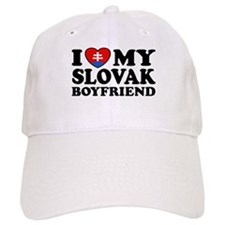 I Love My Slovak Boyfriend Baseball Cap