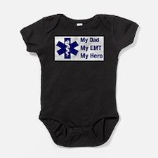 Cute Emergency technician Baby Bodysuit