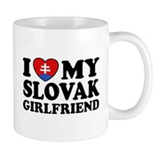 I Love My Slovak Girlfriend Mug