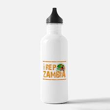 I rep Zambia Water Bottle