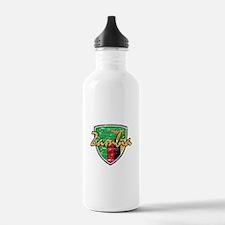 Zambian shield designs Water Bottle