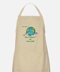 There is only one Apron