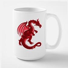 Red Dragon Large Mug